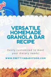 Versatile Homemade Granola Bar Recipe