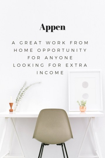 Appen A Great Work from Home Opportunity