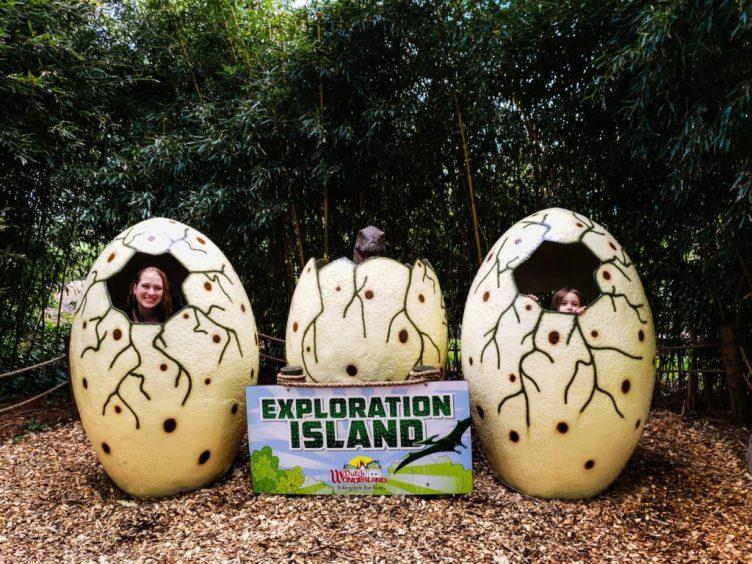 Dino Egg Photo Op