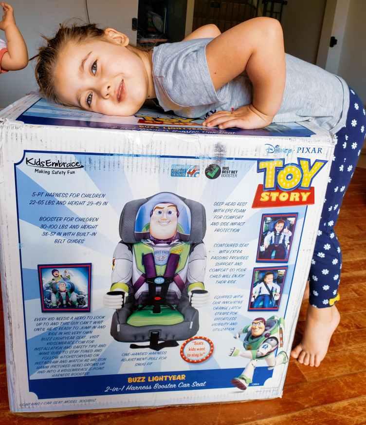 Buzz Light Year Child Car Seat Poncho Size Large