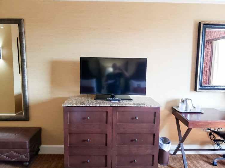 Hershey Lodge double queen room