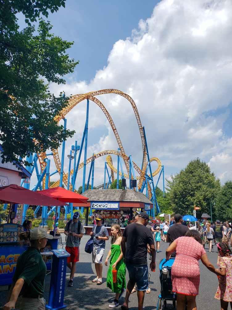 Roller Coast at Hershey Park
