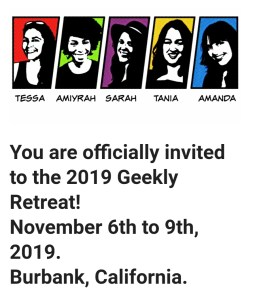 The Geekly Retreat