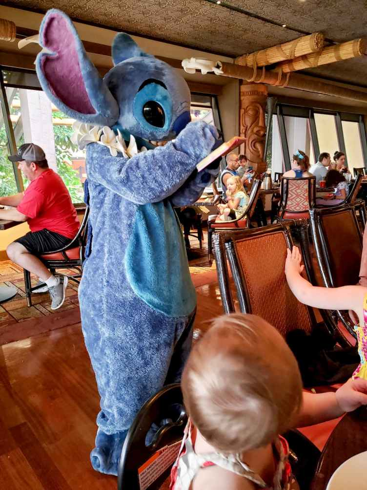 stich at ohana breakfast