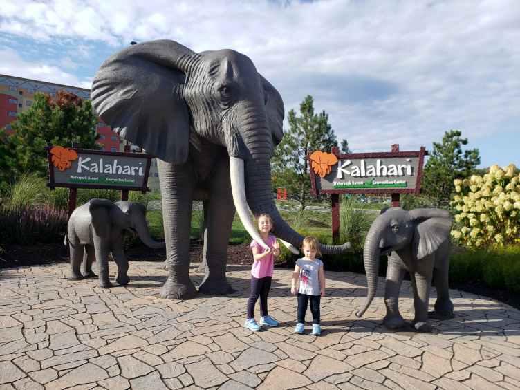 Kalahari Resorts Poconos Grounds