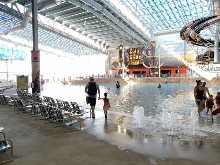 Kalahari Resorts Wave Pool