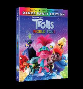Trolls World Tour Blu-ray