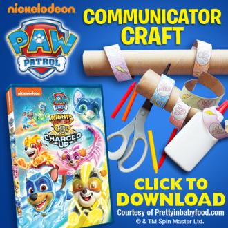 Paw Patrol Communicator Craft