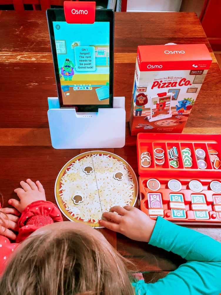 Learning with play osmo