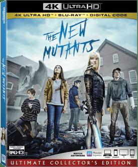 The New Mutants Blu-ray