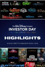 The Walt Disney Company Investor Day 2020 Highlights