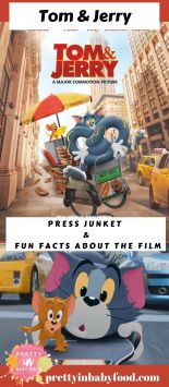 Tom and Jerry The Movie Press Junket & Fun Facts About the Film