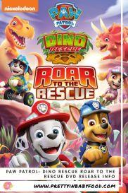 Paw Patrol Dino Rescue Roar to the Rescue DVD Release Info