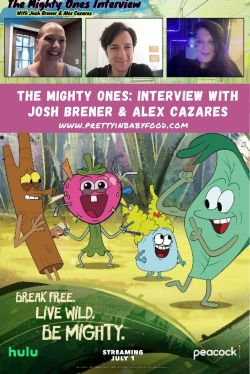 The Mighty Ones Interview Josh Brener & Alex Cazares