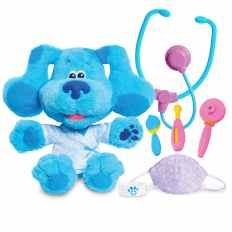 Just Play Blues Clues and You Check-Up Time Blue