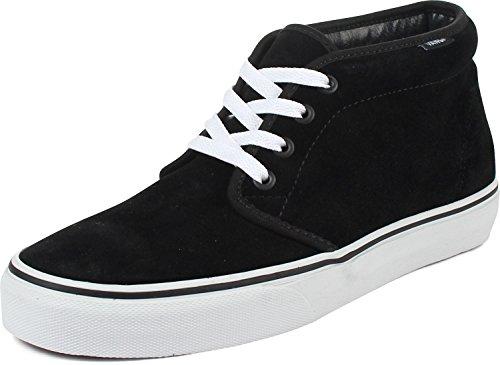 Vans Chukka Boot - Men's Black/White, Mens 6.0/Womens 7.5 | Pretty In Boots | Fabulous Women's Boots