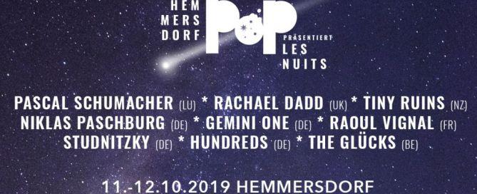 Hemmersdorf Pop präsentiert Les Nuits