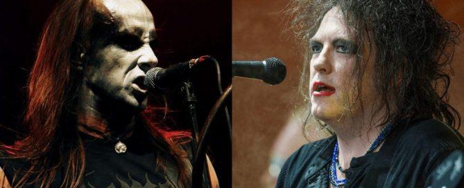 Robert Smith von The Cure und Nergal von Behemoth | (c) Wikipedia Commons