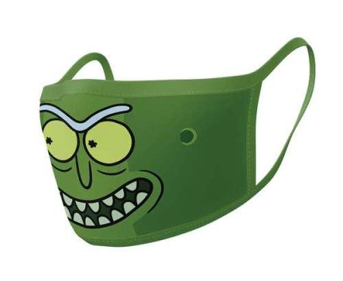 Stoffmaske Rick & Morty