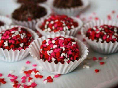 Valentine's Day Brazilian Truffles (Brigadeiro)