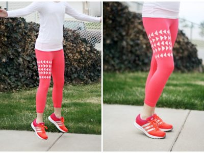 DIY Patterned Leggings/Yoga Pants
