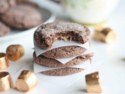 Five Ingredient Rolo Cookies