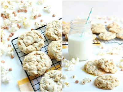 Butterscotch and Buttered Popcorn Cookies