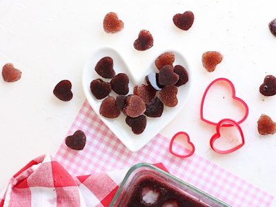 Three Ingredient Fruit Gummies with Chia