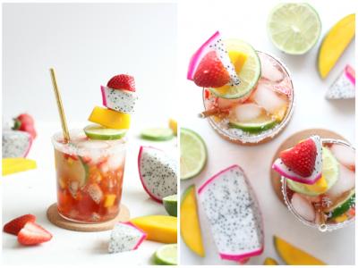 Tropical Medley Sparkling Mocktail