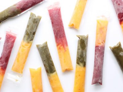 Layered Frozen Juice Pops