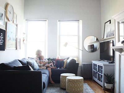 A glimpse inside Liz's 550 square-foot apartment in NYC!