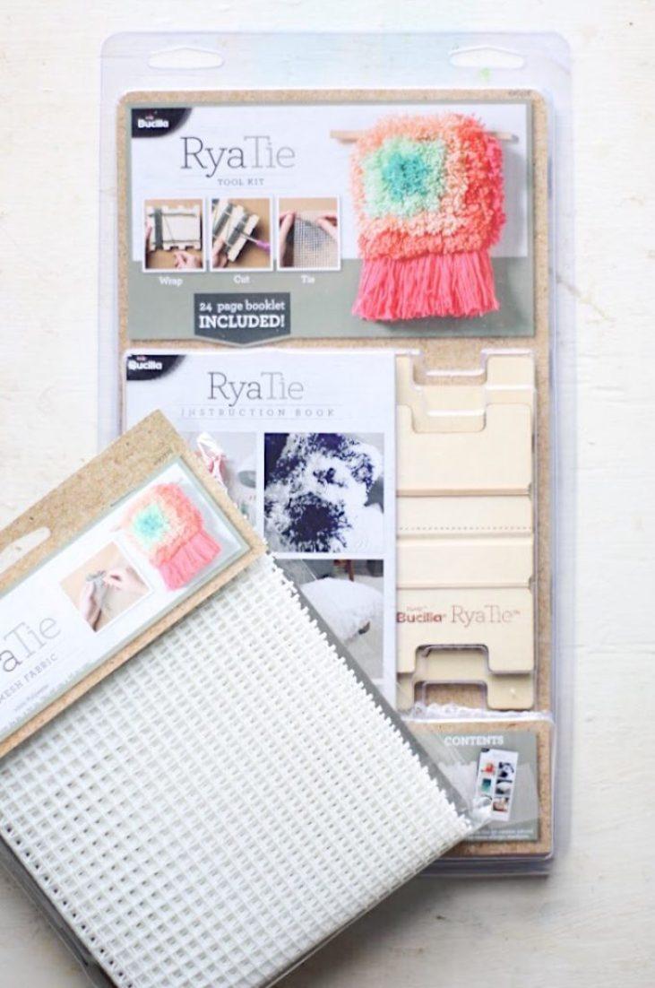 DIY RyaTie Woven Wall Hanging - The Pretty Life Girls
