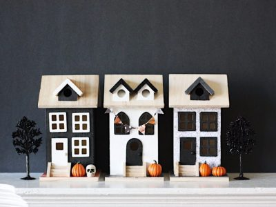 DIY Halloween Village
