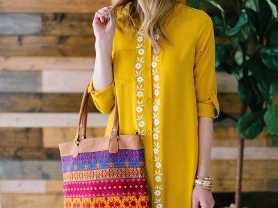 DIY Bohemian Shirt Dress Tutorial!