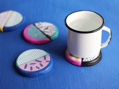 DIY Mix and Match Clay Coasters
