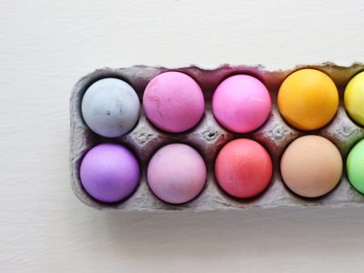 Easter Egg Dyeing Three Ways with Grocery Store Dye!