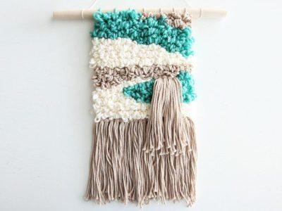 DIY Woven Wall Hanging – No Loom Needed!