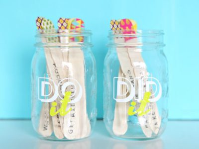 DIY Summer Activity Jars to Reduce Screen Time!