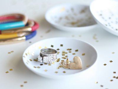 How to Make DIY Mod Podge Confetti Dishes