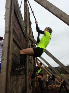 My first Tough Mudder last year.