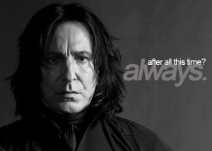 One of Rickman's best quotes.