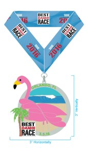 I may or may not have just registered for this race to get this medal...