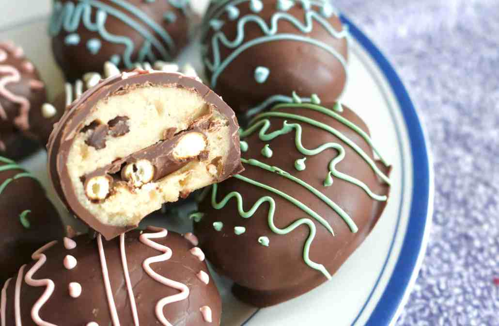 Cookie Dough Truffle Egg Surprise!