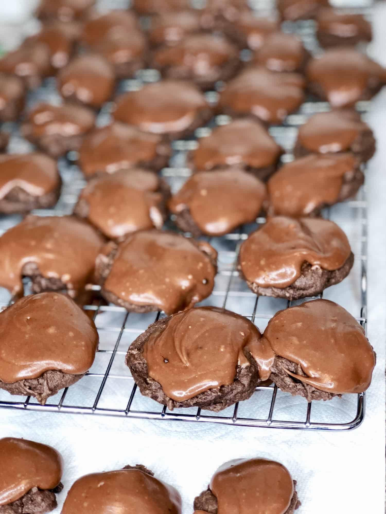Texas Sheet Cake Cookies