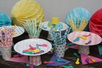 Childrens Paper Party Supplies