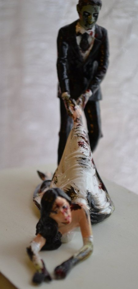 Zombie Wedding Cakes Pretty Little Peculiar