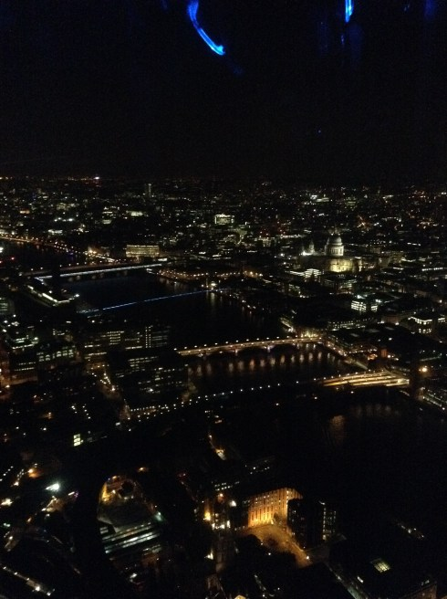 londres vue shard