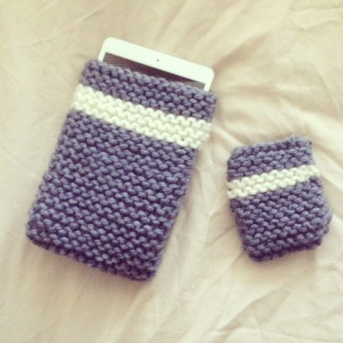 pochette-ipad-iphone-tricot