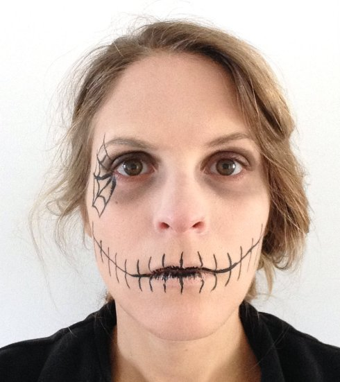 halloween-maquillage-facile