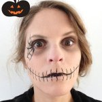 Make up d'Halloween super facile